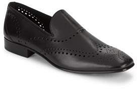 Roberto Cavalli Perforated Wingtip Loafers