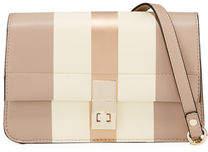 Neiman Marcus Lena Box Flap Crossbody Bag