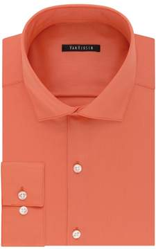 Van Heusen Men's Slim-Fit Lux Sateen No-Iron Dress Shirt