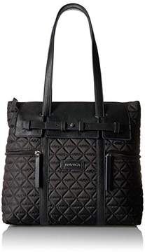 Nautica Swashbuckler Quilted Nylon Tote