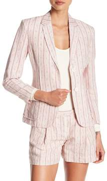 ATM Anthony Thomas Melillo Striped Schoolboy Blazer