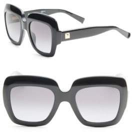 Max Mara Prism Story 52MM Square Sunglasses