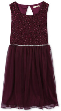 Speechless Glitter Party Dress, Big Girls Plus (8-20)
