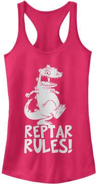 Fifth Sun Raspberry 'Reptar Rules' Rugrats Tank - Juniors