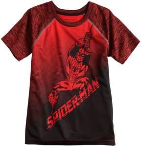 Spiderman Boys 4-10 Jumping Beans Marvel Active Raglan Tee