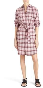 Burberry Agna Check Shirtdress