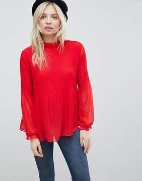 B.young High Neck Blouse