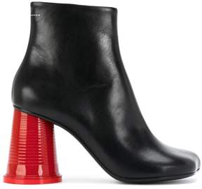 MM6 MAISON MARGIELA cup heeled boots