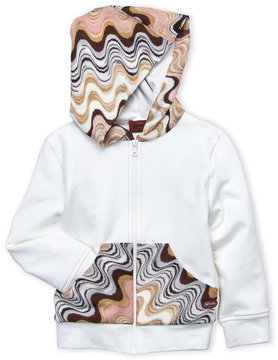 Missoni Toddler Girls) Contrast Knit Paneled Hoodie
