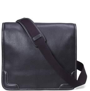 Brooks Brothers Pebble Leather Messenger