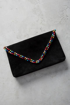 Anthropologie Rainbow Coco Clutch