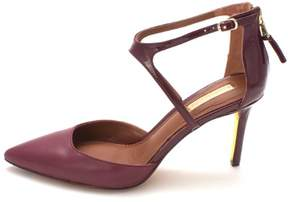 Lauren Ralph Lauren LAUREN by Ralph Lauren Womens Kabira Leather Pointed Toe Ankle Strap Classic ...