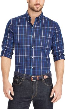 Chaps Men's Classic-Fit Stretch Button-Down Shirt