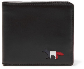 MAISON KITSUNÉ Leather Billfold Wallet