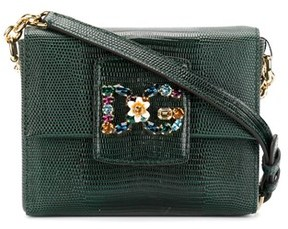 Dolce & Gabbana Dolce E Gabbana Women's Green Leather Shoulder Bag. - GREEN - STYLE