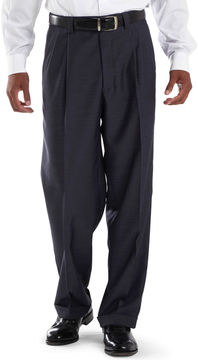 JCPenney Steve Harvey Pleated Sharkskin Dress Pants