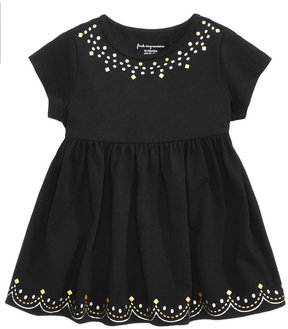 First Impressions Cotton Border-Print Babydoll Tunic, Baby Girls (0-24 months), Created for Macy's