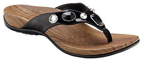 Vionic As Is w/ Orthaheel Eve Orthotic Thong Sandals