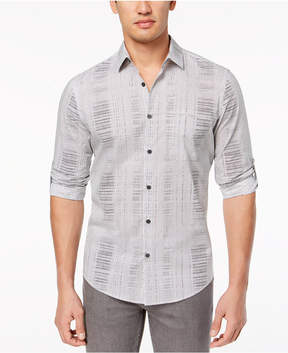 Alfani Men's Abstract Geo-Print Shirt, Created for Macy's