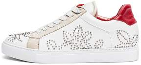 Zadig & Voltaire Women's Zv1747 Studded Leather Sneakers