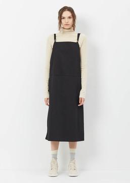 Base Range Baserange Black Overall Dress