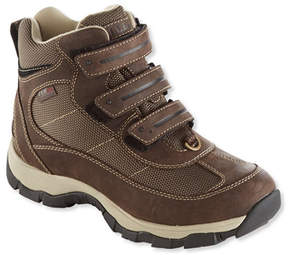 L.L. Bean Women's Snow Sneaker with Arctic Grip, Mid Hook-and-Loop