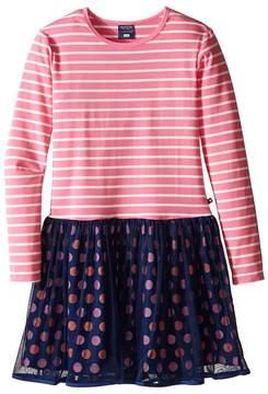 Toobydoo Love Me Pink Tulle Party Dress (Toddler/Little Kids/Big Kids)