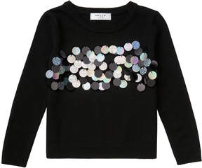 Milly MINIS PAILLETTE PULLOVER