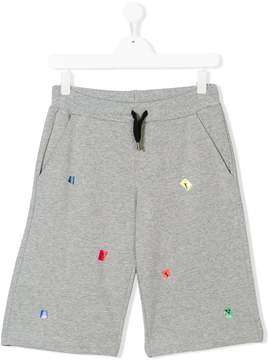 Lanvin Enfant teen track shorts