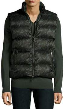 Michael Kors Camouflage Quilted Vest