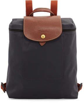 Longchamp Le Pliage Nylon Backpack, Gunmetal