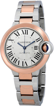 Cartier Ballon Bleu De Silver Dial Ladies Automatic Watch