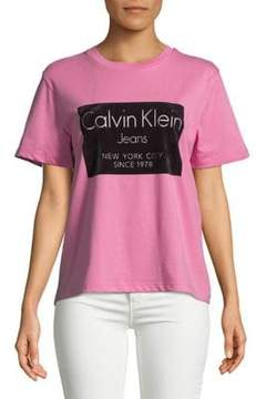 Calvin Klein Jeans Graphic Cotton Tee