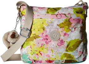 Kipling Sebastian Crossbody Cross Body Handbags - LUSCIOUS FLOWER WHITE - STYLE