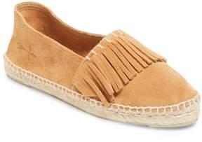 Manebi Women's Flat Leather Espadrille