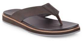 Calvin Klein Deano Textured Slip-On Sandals