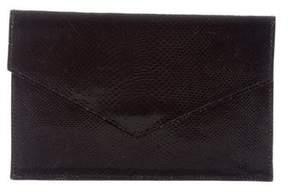 Ralph Lauren Leather Envelope Clutch