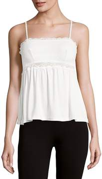Eberjey Women's Magnolia Scalloped Lace Camisole
