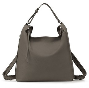 Allsaints Kita Convertible Leather Backpack - Grey