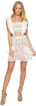 For Love & Lemons Tati Pinafore Lace Dress Women's Dress
