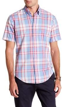 Brooks Brothers Madras Spring Short Sleeve Regent Fit Shirt