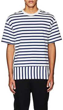 Public School Men's Daryl Striped Cotton T-Shirt
