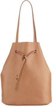 Steven Alan Dylan Smooth Drawstring Tote Bag, Tan