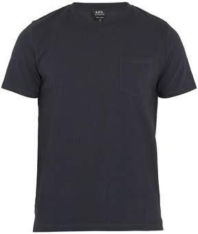 A.P.C. Michael patch-pocket cotton T-shirt