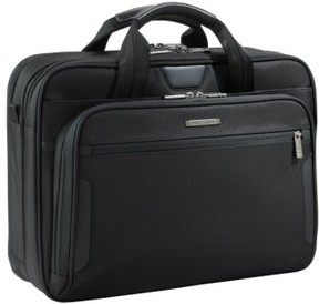 Briggs & Riley 'Medium' Ballistic Nylon Briefcase - Black