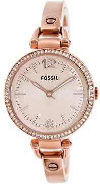 Fossil Women's ES3226 Gerogia Stainless Steel Watch, 32mm