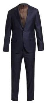 Brunello Cucinelli Solid Wool Suit
