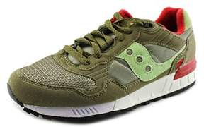 Saucony Shadow 5000 Men Round Toe Suede Green Running Shoe.