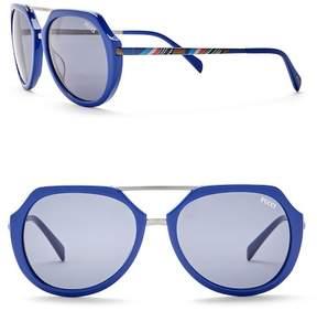 Emilio Pucci 56mm Metal Sunglasses