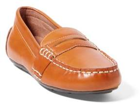 Ralph Lauren Telly Leather Penny Loafer Tan 1